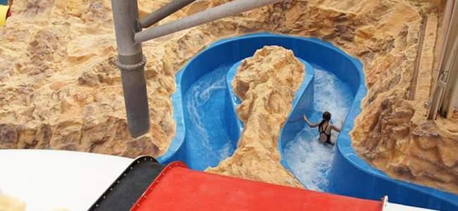 Aqualand Koln Kunstfelsen